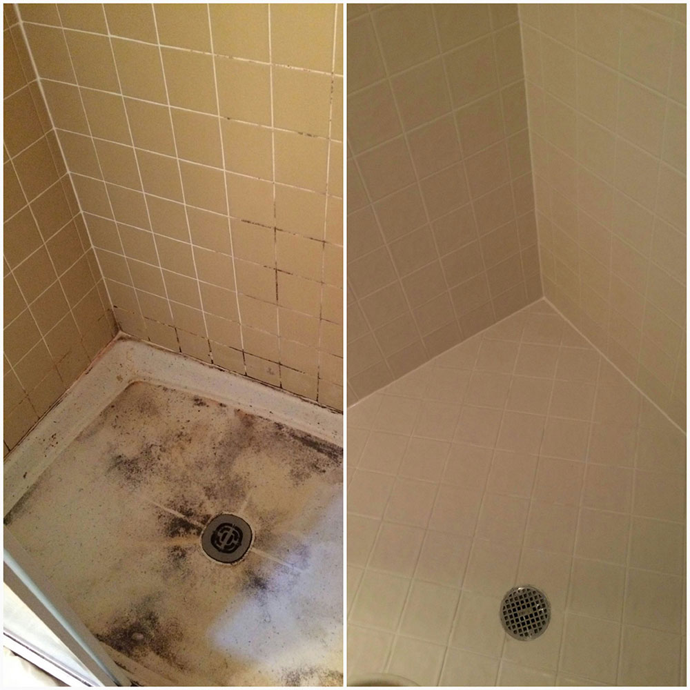 How to repair bathroom tile